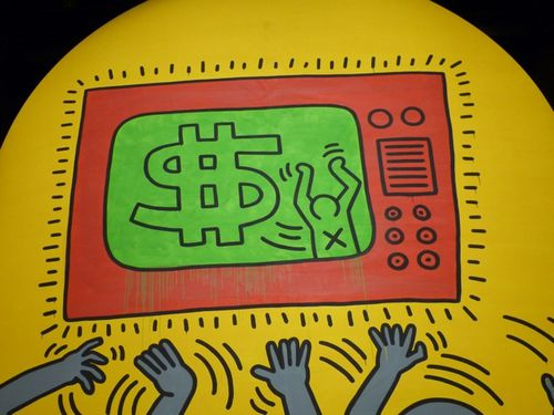 Keith Haring 10 commandements 104 6