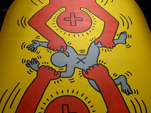 Keith Haring 10 commandements 104 7