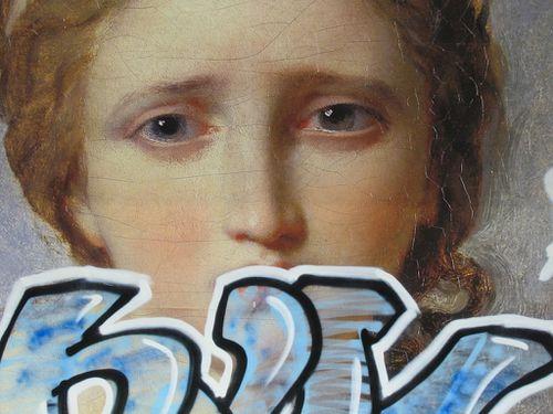 Antiquité rêvée affiche métro tags 2