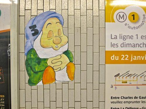 sept nains métro dormeur