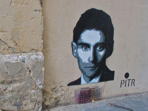Pitr Kafka street-art