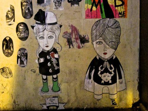 Street-art 4è Le Chevalier Tristan couple