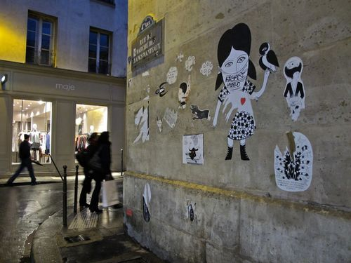 Street-art 4 Le Chevalier coin 1