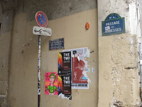 Rimbaud voyant street-art Abbesses