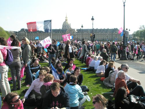 Manif Pour Tous Paris 21 avril 2013 Photo POC