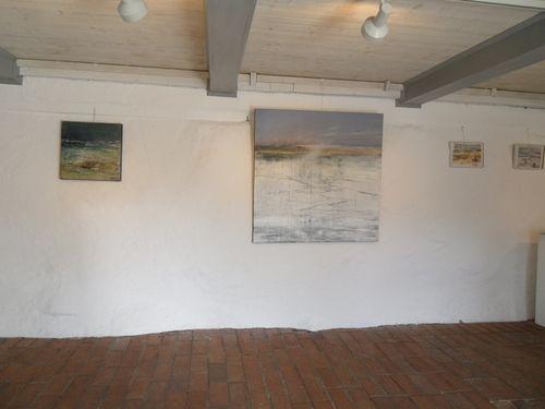 la galerie sur l'île de Öland
