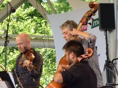 Concert Parc Floral David Gaillard, Jean-Philippe Viret et