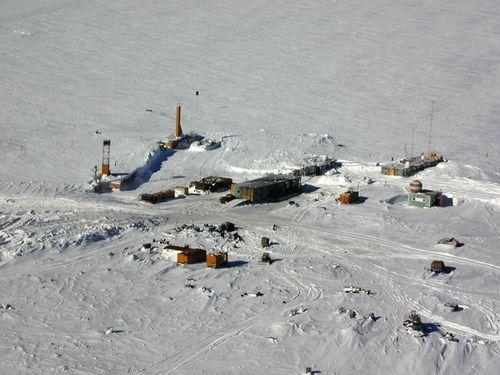 antarktik Vostok Station