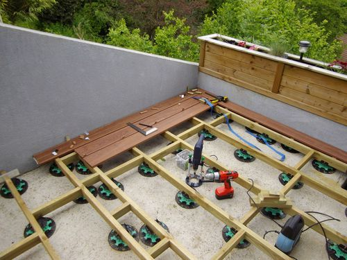 Pose D'Une Terrasse En Bois - Akou91 - Technical Adventures