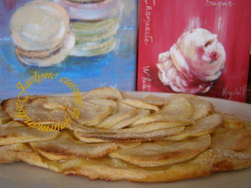 Tarte aux pommes classique Jaclyne cuisine et gourmandise
