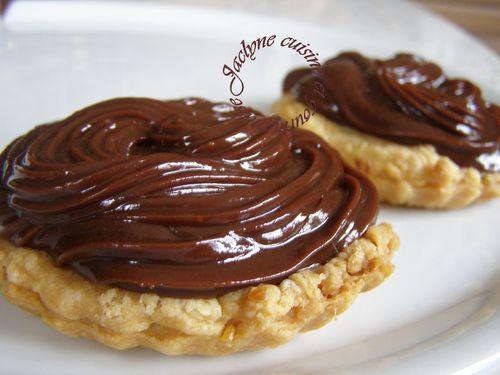 Tartelette 2 chocolats pâte feuilletée saveur poivre long noir Jaclyner