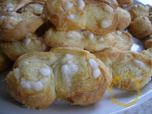 Palmiers pate feuilletée maison Jaclyne cuisine et gourmandise