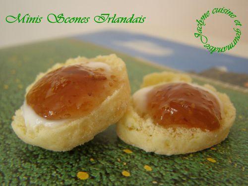Minis Scones Irlandais Jaclyne cuisine et gourmandise