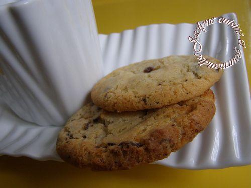 Cookies aux deux chocolats saveur citron Jaclyne www.cuisineetgourmandise.fr