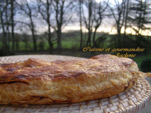 GALETTE DES ROIS FRANGIPANE FEUILLETE LONG jaclyne cuisine et gourmandise