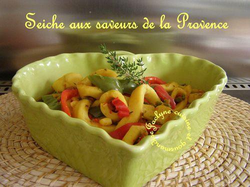 Seiche aux saveurs de la Provence Facile, rapide vous allez vous régaler ♥ Jaclyne cuisine et gourmandise