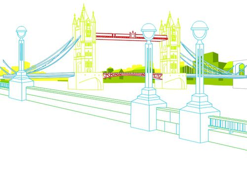 TOBOCLIC ILLUSTRATION LONDON BRIDGE JALBERT 00