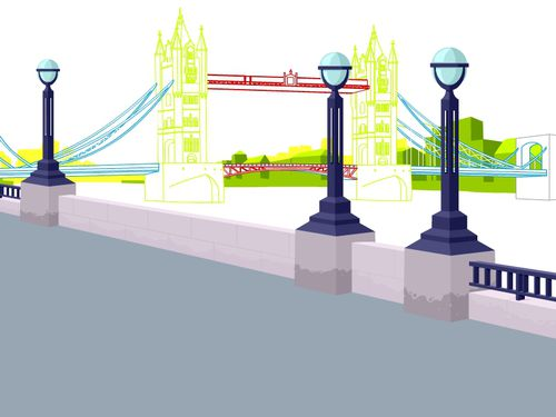 TOBOCLIC ILLUSTRATION LONDON BRIDGE JALBERT 01