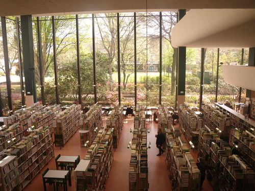 Bibliothèque Toussaint, Angers, Grande salle du bas