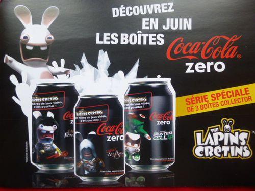 Coca-Cola, Boîte-Boisson, Lapins crétins