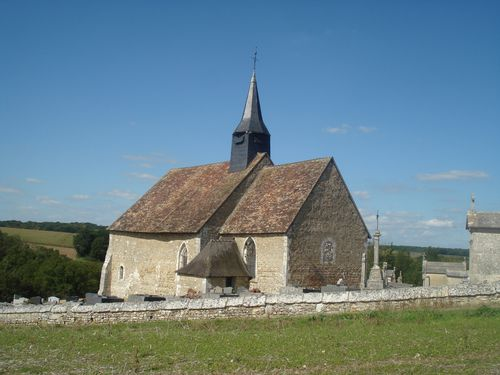 Reuilly, église romane, St Christophe XIe