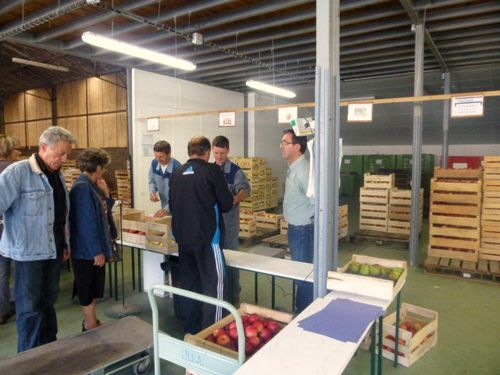Pommes-Poires, les agents, INRA-Angers,