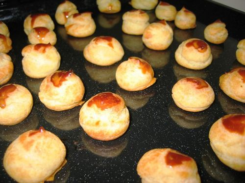 Chouquettes au fromage 02