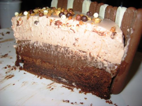 Gateau triple choc nutella 07