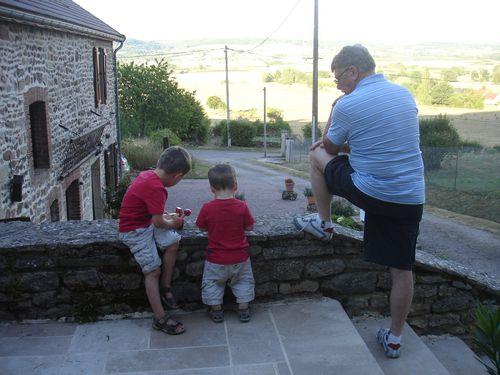 Mes 3 sur la terrasse