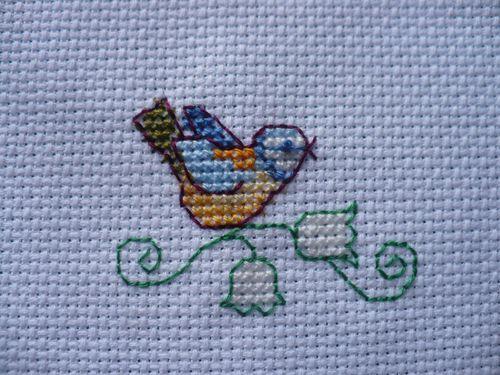 oiseau brin de muguet 001