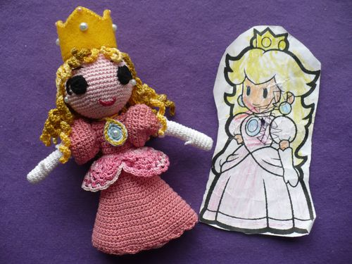 princesse Peach finie