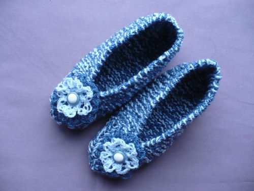 chaussons tricot 001