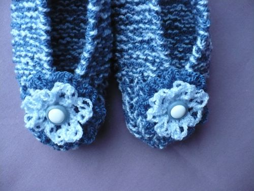 chaussons tricot 003