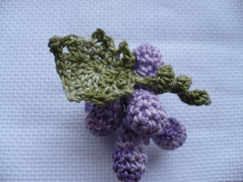 grappe raisin crochet 001