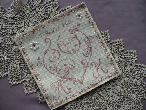 coussin mariage broderie 002