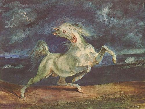 CHEVAL Victor Delacroix