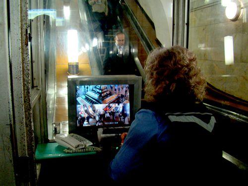 8662 MOSCOU Surveillance Métro