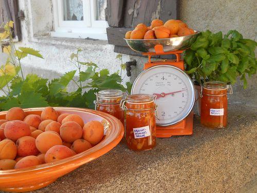 Confitures Maison Gites les Vaquans Aveyron