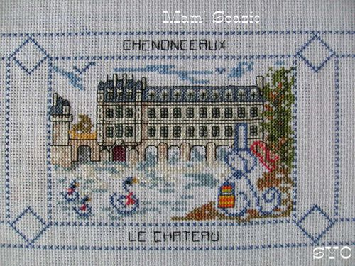 Carte Brodee Chenonceaux-Mamigoz