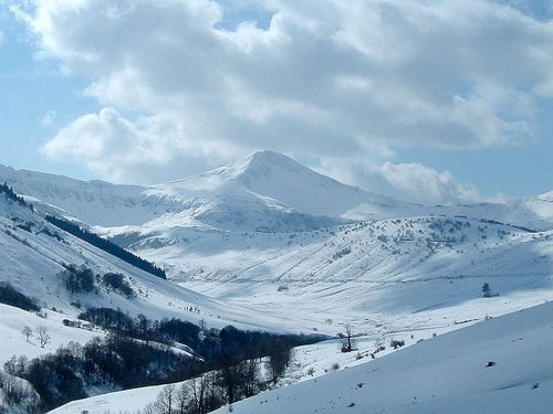 Puy Mary en hiver