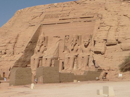 abou simbel - le grand temple