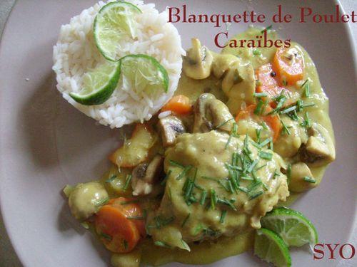 Blanquette de Poulet Caraïbes-Mamigoz