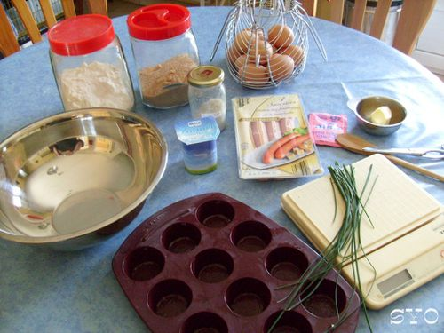 Bouchees aux saucisses fromageres-Mamigoz