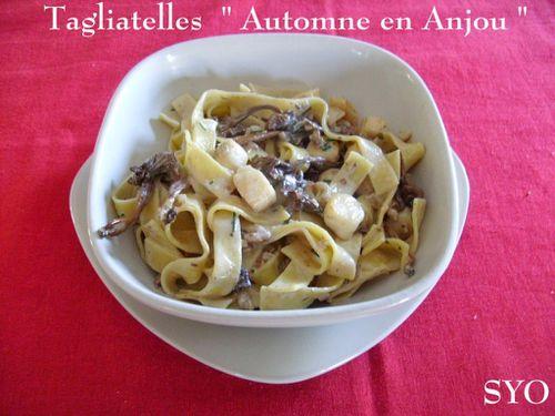 Tagliatelles-Automne en Anjou-Chez-Mamigoz