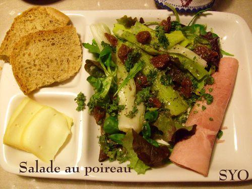 Salade au poireau-Mamigoz