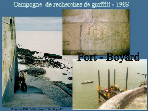 Fort Boyard Campagne Graffiti 1998