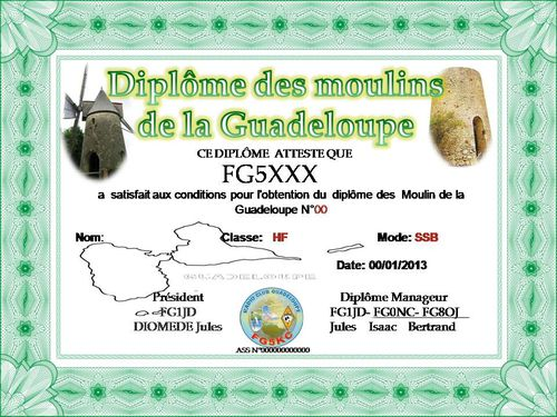 DIPLOME MOULIN 971