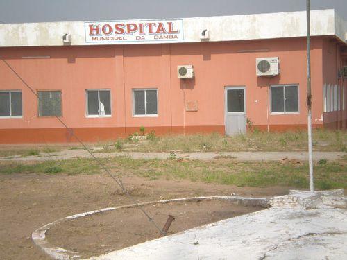 Novo hospital da Damba