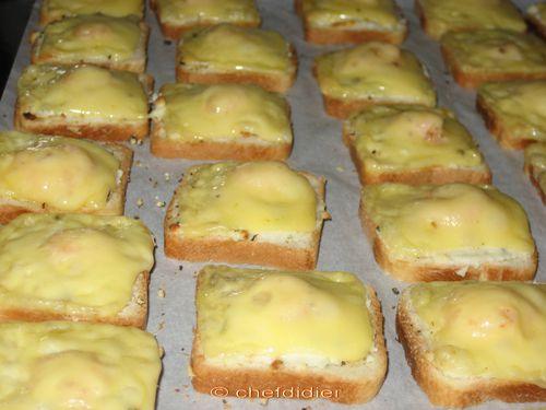 Toasts crevettes 8