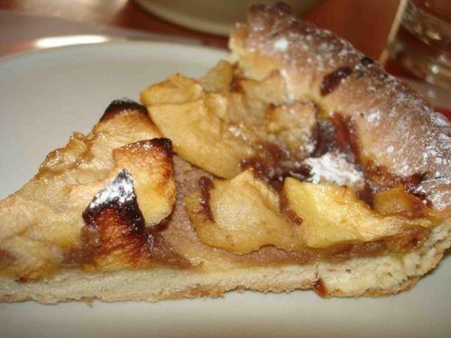 ma recette de tarte aux pommes p 226 te sabl 233 e aux 233 clats de caramel manou dans sa cuisine